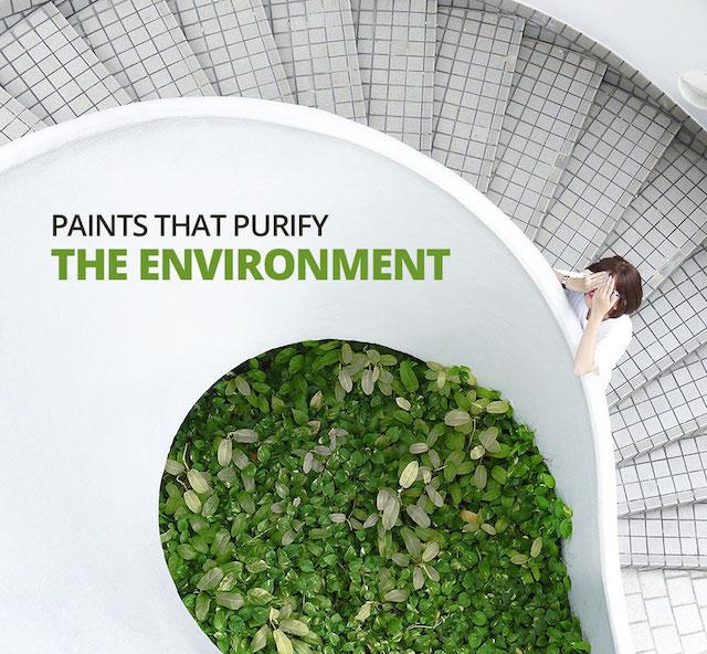 Milieuvriendelijke verf Milieuvriendelijk schilderen
